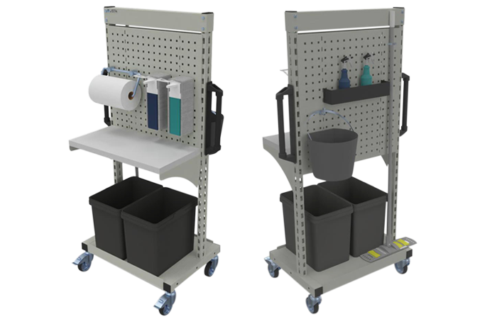 LISTA DISINFECTION TROLLEY