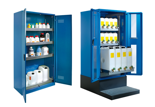 Environmental and oil cabinets