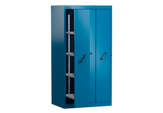 Vertical pull-out cabinets